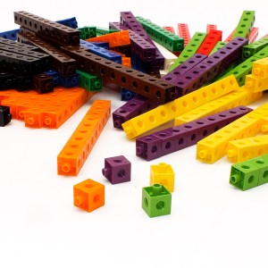 Cuburi colorate asamblabile 1000 buc. 19