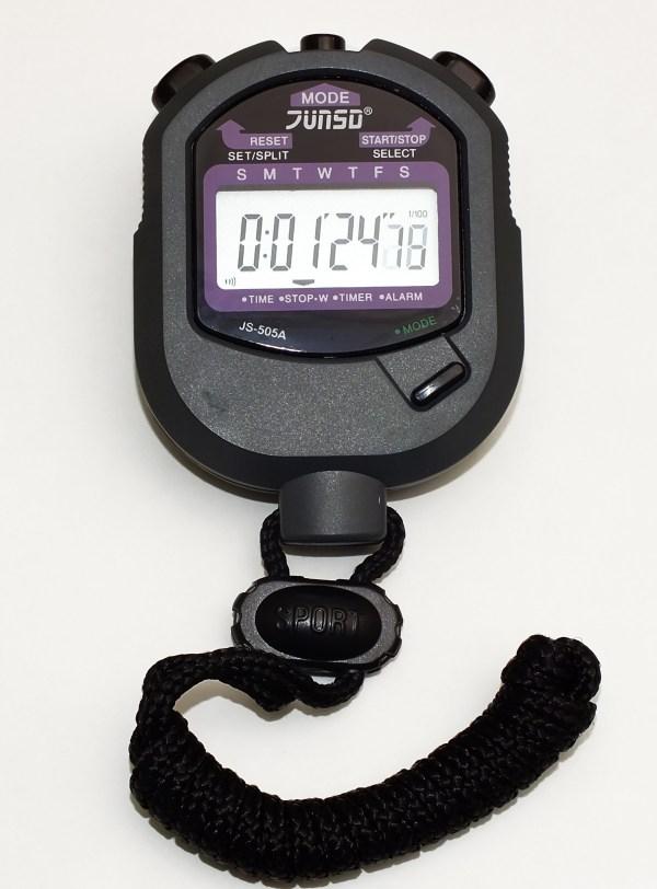 Cronometru digital cu baterie de litiu 6