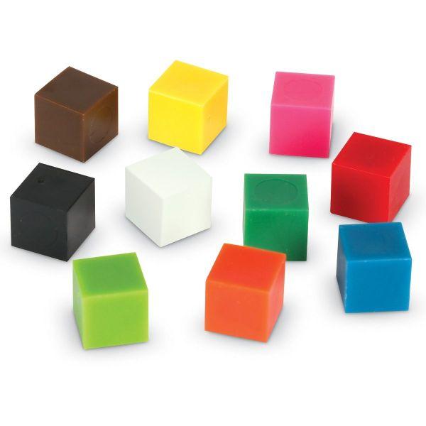 Cuburi multicolore - 1cm 3