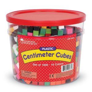Cuburi multicolore - 1cm 9