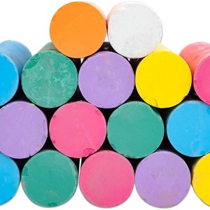 Creta colorata desen asfalt 20 buc/galetusa 10