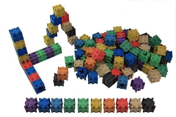 Set cuburi interconectabile - 10 culori 3