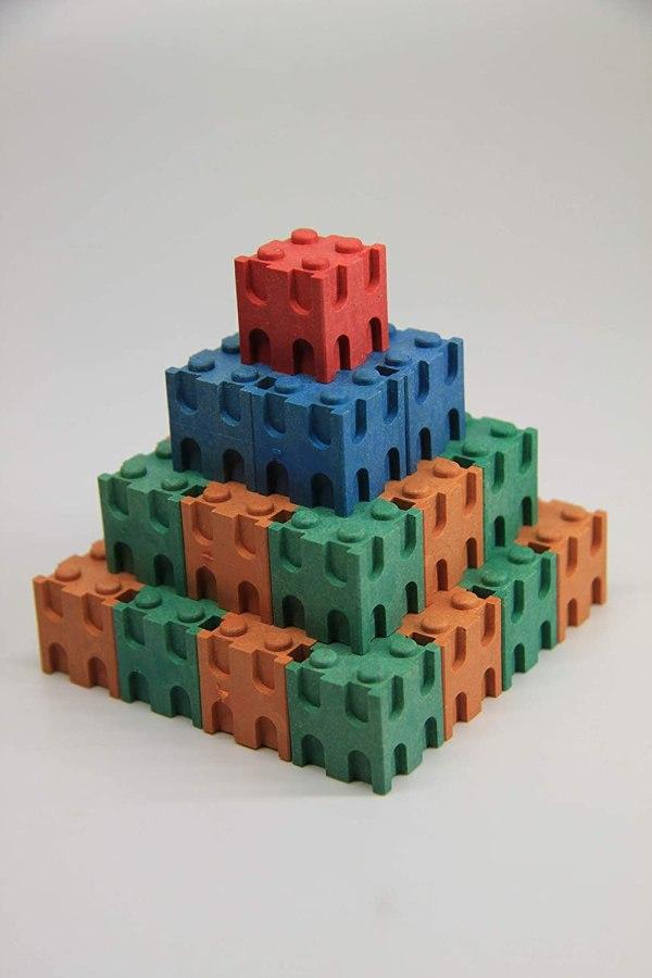 Set cuburi interconectabile - 10 culori 6