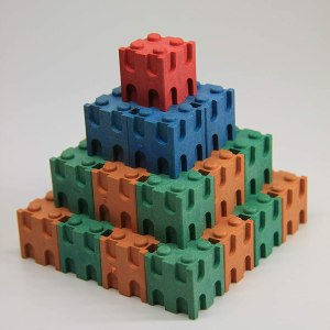 Set cuburi interconectabile - 10 culori 11