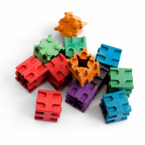 Set cuburi interconectabile - 10 culori 9