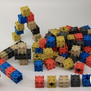 Set cuburi interconectabile - 10 culori 12