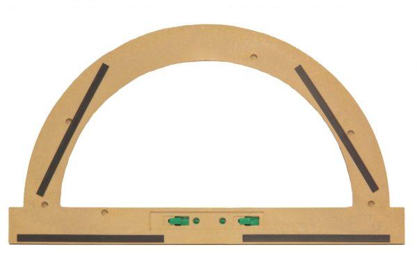 Trusa de instrumente geometrice Magnetice pentru tabla din lemn reciclat 8
