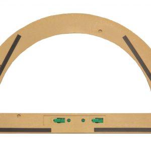 Trusa de instrumente geometrice Magnetice pentru tabla din lemn reciclat 13
