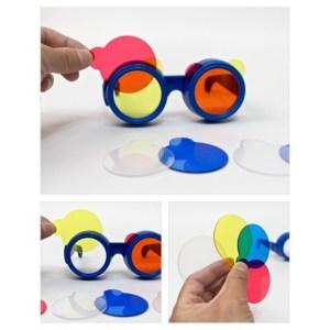 Ochelari pentru mixarea culorilor 10