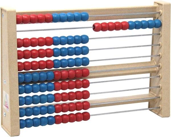 Numaratoare din lemn cu 100 de bile 2