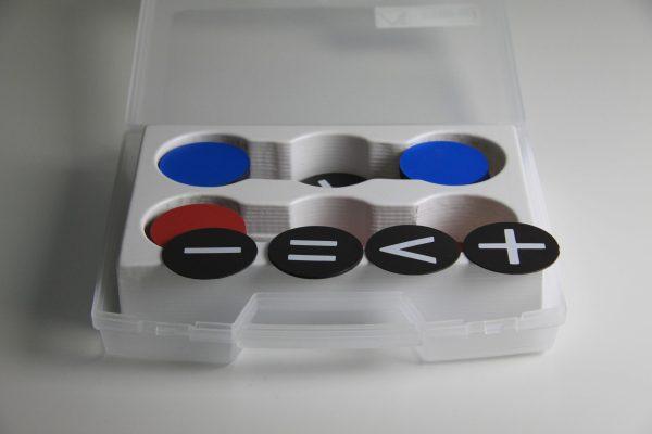 Jetoane rotunde si semne Magnetice 9