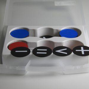 Jetoane rotunde si semne Magnetice 15