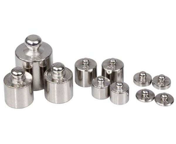 Set 11 greutati metalice pentru balante 3
