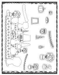 Dibujos Para Colorear El Da De Los Muertos 39