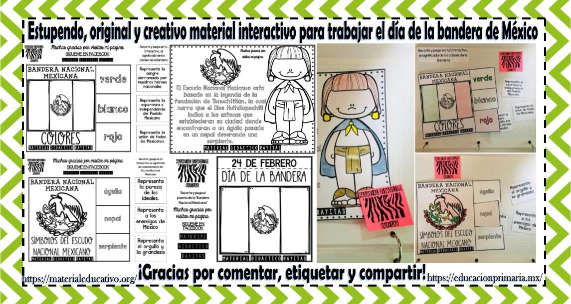 Escudo Nacional Mexicano Para Imprimir. Colorear Bandera Mexicana La ...