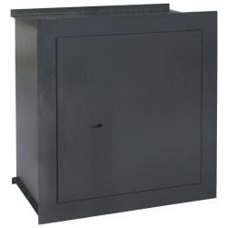 Caja fuerte para pared gris oscuro 42x24x42 6cm Vida XL 144688 Comprar