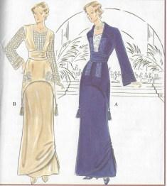 Elegant drapery