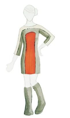 Woolen Dress Design