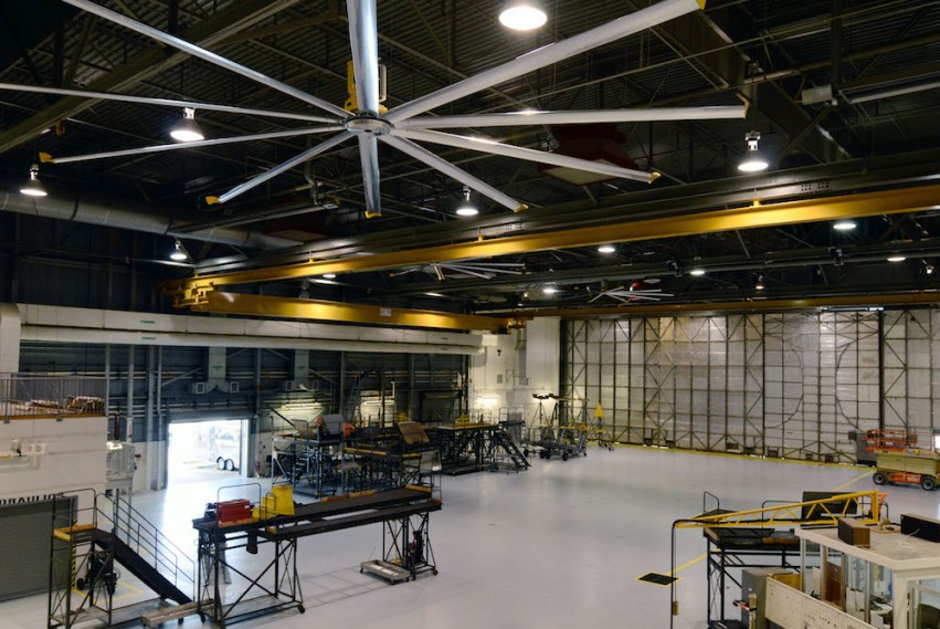 Climate control warehouse