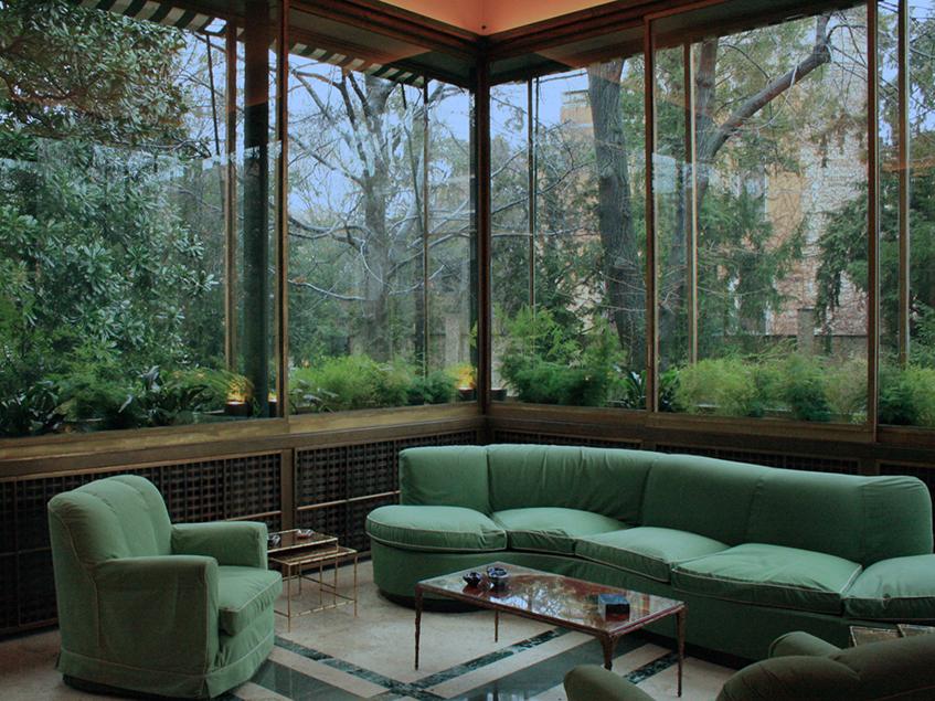 """alt=""""Interior design anni 30 -Villa Necchi Campiglio"""""""