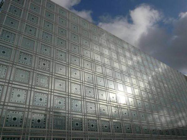 """alt=""""facciata-architettura-metallo-institute-du-monde-arabe-jean-nouvel-parigi"""""""
