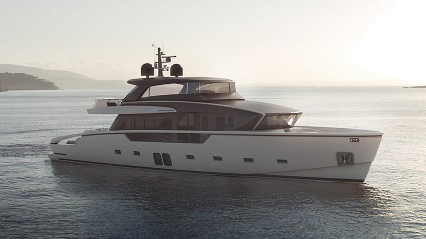 "alt=""Design sull'acqua -Yacht - Sanlorenzo SX88"""
