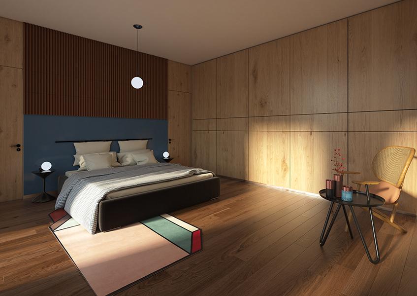 "alt=""Render - Design hotel - Hospitality - 50 anni IED - La luna é una lampadina"""