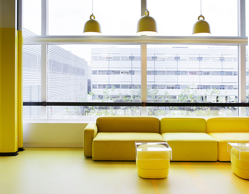 "alt=""Design store - Normann Copenhagen -Styling yellow"""