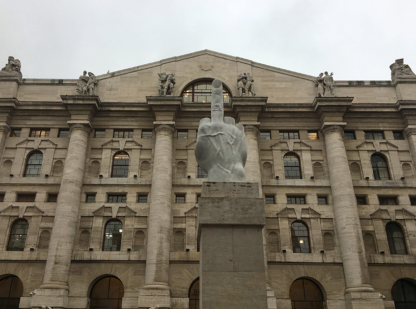 "alt=""Open house Milano - Palazzo Mezzanotte - Borsa italiana - Esterno - Cattelan"""