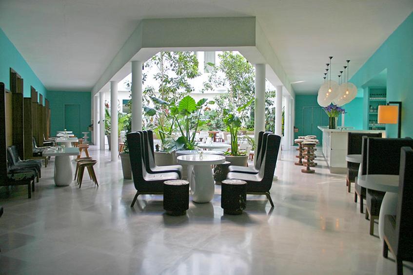 "alt=""Mexico city - Design capital 2018 - Condesa hotel - India Mahdavi"""