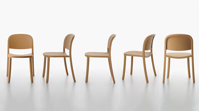 """alt=""""Jasper Morisson - 1 inch reclaimed chair - Emeco"""""""