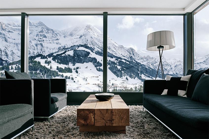 "alt=""Settimana bianca tra storia e design - Hotel The Cambrian - Adelboden - Vista panoramica"""