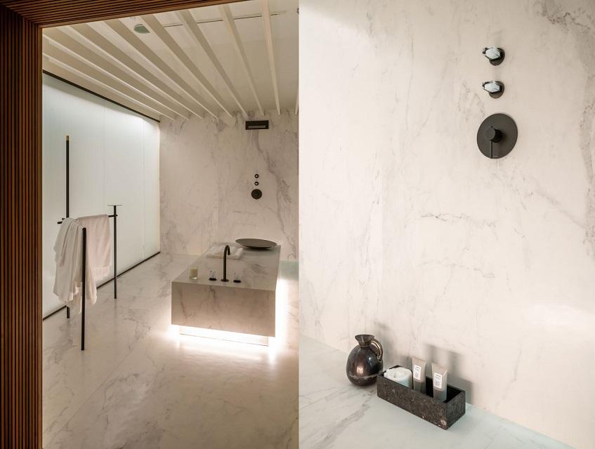 """alt=""""Benessere e ospitalità - Matteo Thun - Elle Decor - Palazzo Morando Milano - Effe - Hammam"""""""