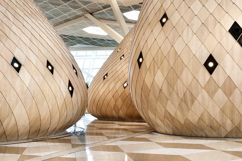 "alt=""Design in aeroporto - Baku terminal - Autoban studio"""