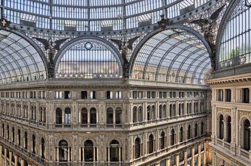 """alt=""""Gallerie e paessaggi coperti milanesi - Galleria Vittorio Emanuele - Milano - Copertura"""""""