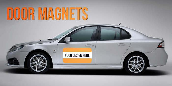Car Magnets Custom Prints Advertising Effectiveness - Custom awareness car magnet