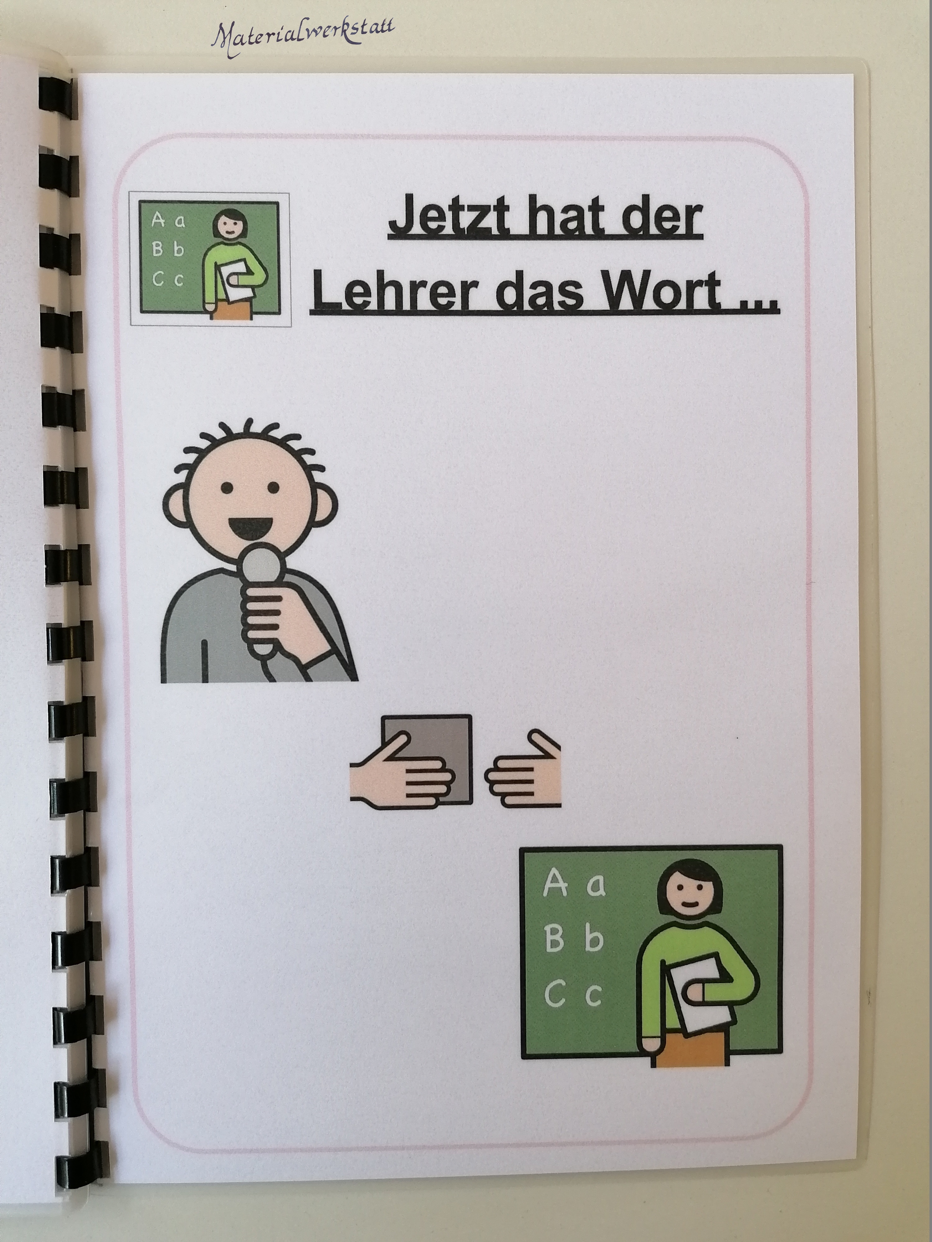 Moderationsbuch Morgenkreis Materialwerkstatt