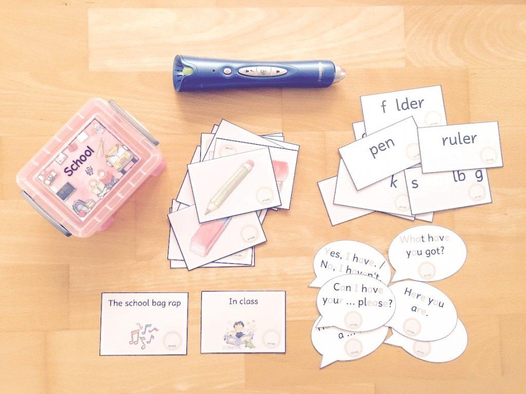 Themenbox school things