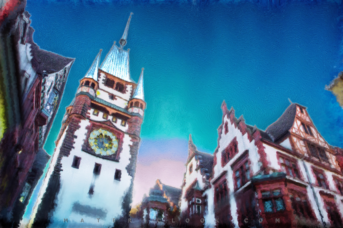 MatericLook: Germany, Freiburg: Martinstor by Francesco Perratone, Germany Photography and art
