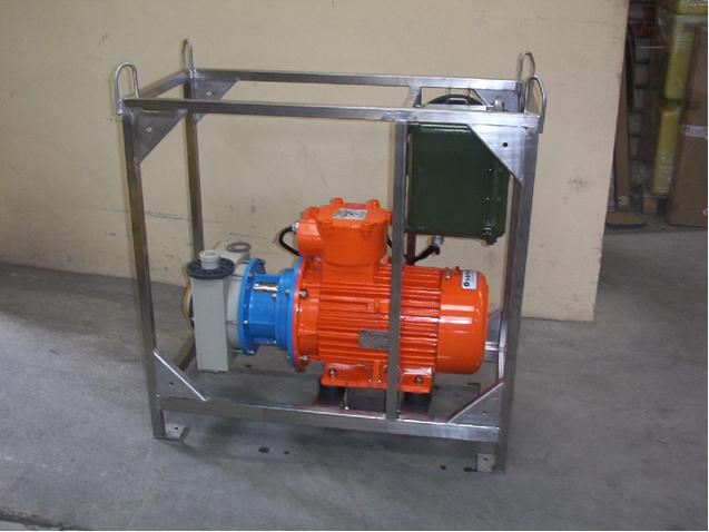 Pompe centrifuge anticorrosive ATEX