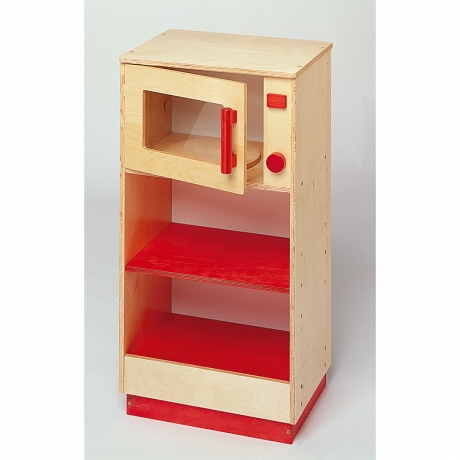 four a micro ondes rouge modulaire