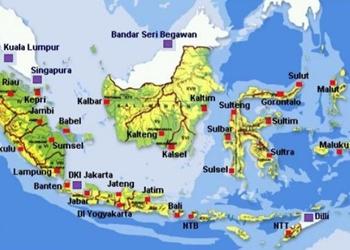 Pada peta tematik, simbol peta ini biasanya memiliki sebuah. Peta Fungsi Komponen Dan Jenisnya Materiipa Com