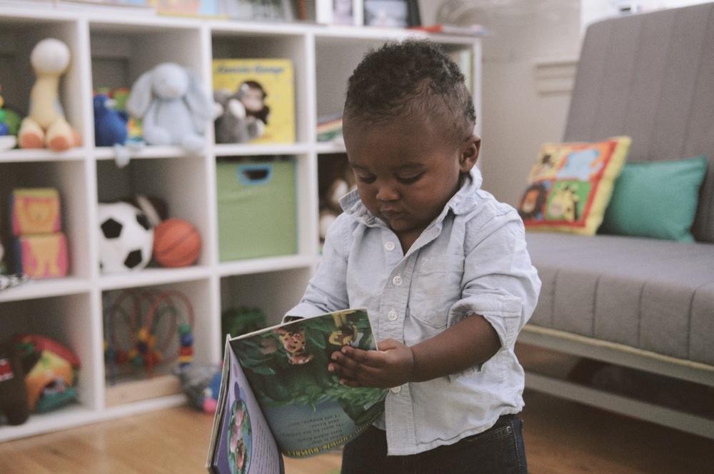 Toddler opening book
