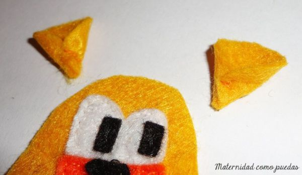 DIY marioneta dedo animales
