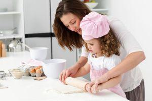 cocinar con ninos