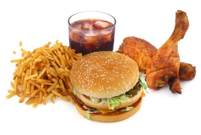 comida grasa