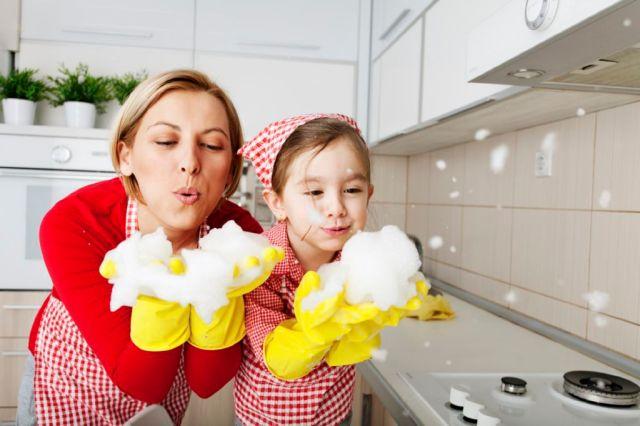 tareas del hogar ninos