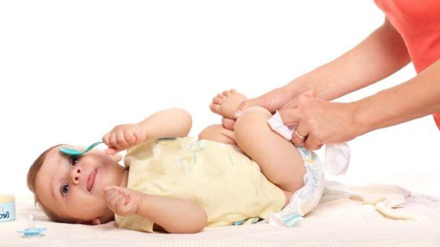 cambiar panal bebe