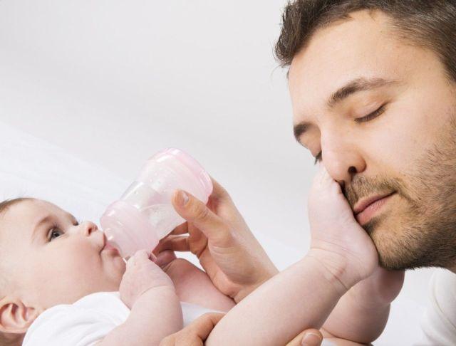 padre-lactancia