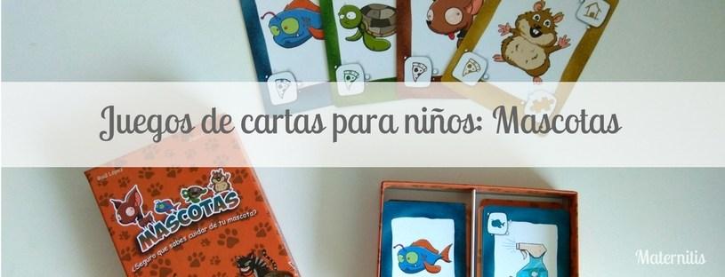 Juegos De Cartas Para Ninos Mascotas Maternitis Maternidad
